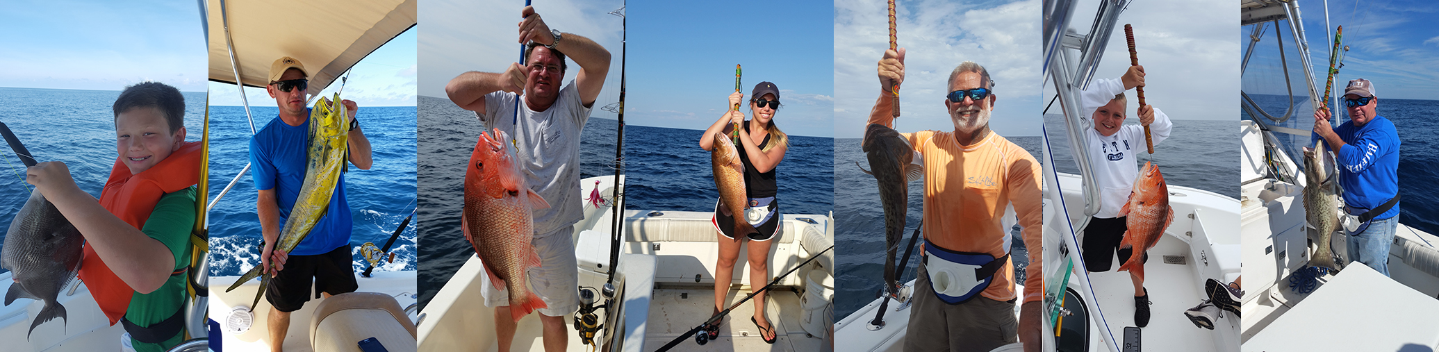 Destin Offshore & Inshore Fishing with Semper Fish Charters
